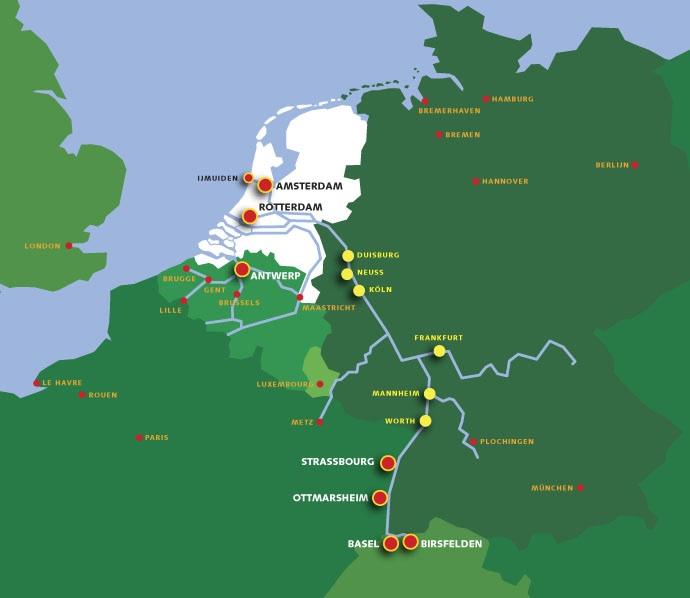 Rijn shuttle | BCA Intermodal